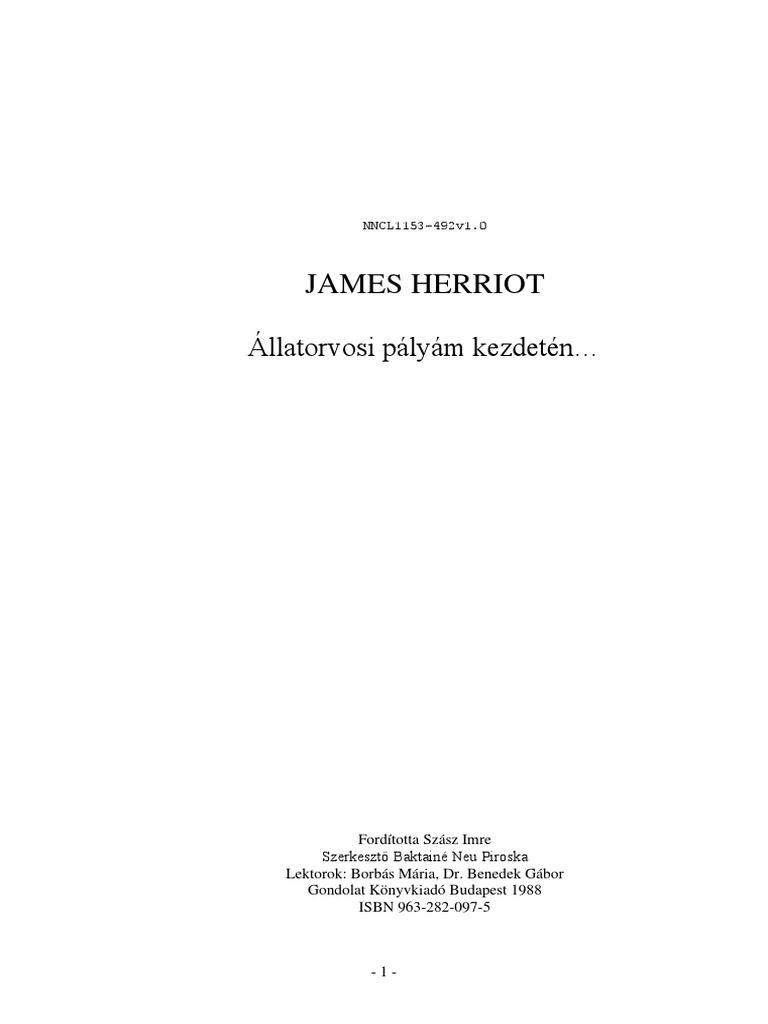 Herriot James Allatorvosi Palyam Kezdeten 4868e02045
