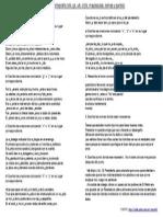 Ejercicios de Ortografía (v/b, g/j, x/s, c/z/s,