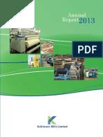 Km l Annual Report 2013