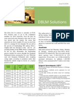 DBLM Solutions Carbon Newsletter 23 Apr 2015