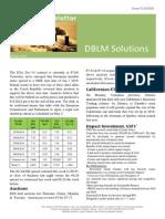 DBLM Solutions Carbon Newsletter 30 Apr 2015