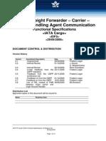 IATA Agent -Carrier-handling Comm