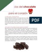 Beneficios Del Chocolate Para El Corazón