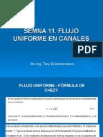 Semana  11_ Flujo uniforme en canales.ppt