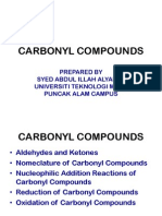 Carbonyl Compounds New Edition Chm096