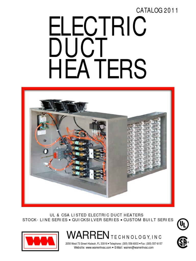 electric heater relay (273 views) 3 Phase Electric Duct Heater