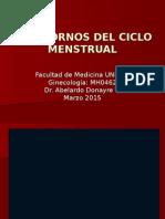 1trastornos Del Ciclo Menstrual