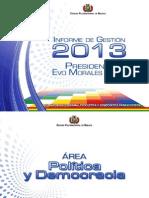 Informe Dle Presidente 2013