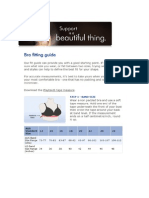 Playtex Size Guide