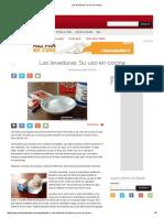 Las Levaduras