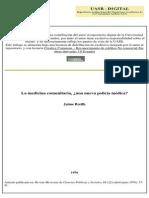 Breilh, J CON 209 La Medicina Comunitaria