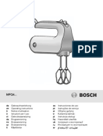 Batidora Amasadora Bosch