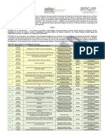 Convocatoria Formacion 2014-2015