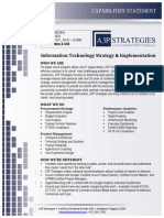 A3P Strategies - IT Strategy & Implementation - Capabilities Statement