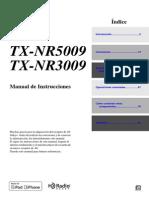 Manual TX-nr5009 TX-nr3009 Es