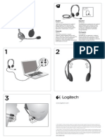 Stereo Headset h110 Quick Start Guide