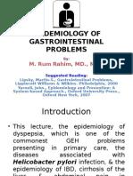 15-5-8 Epidemiology of Gastrointestinal Problems (Dr. Muh. Rum Rahim, m.kes