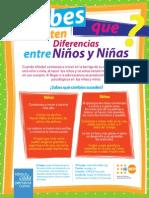 5. Diferencias Entre Ninos y Ninas