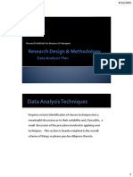 Data Analysis Plan Handout