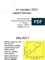 SOI MOS Device Modelling EE5341 Part1