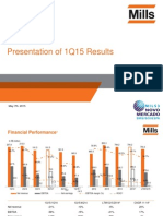 1Q15 Presentation of Results
