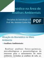 O Biomédico e o Meio Ambiente - CEULJI