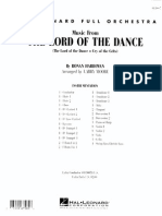 Lord of the Dance- Score