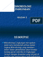 1 Mikrobiologi Lingkungan1 2010