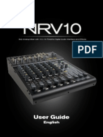 M-Audio mixer _NRV10_UG_EN01