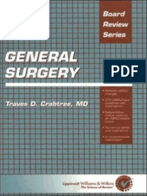 BRS General Surgery   Anesthesia   Bleeding
