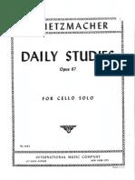 Metodo Gruetzmacher Para Violoncello