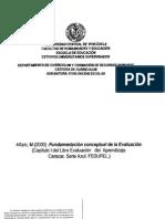 Alfaro 2000 Fundamentos Conceptuales de La Evaluacion