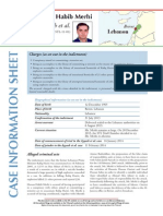 Case Info Sheet - Hassan Habib Merhi