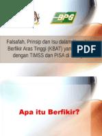 1_Falsafah Prinsip dan Isu Dalam KBAT.ppt