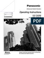 Panasonic KX-TA308 - User ManualPanasonic KX-TA308 - User manual
