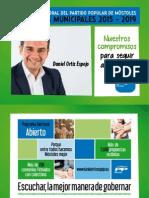 Programa Electoral PP Móstoles Elecciones Municipales 2015