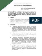 directiva de viáticos y pasajes PNP