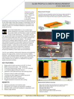 Slab Profile & Width Measurement