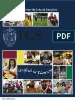 Brochure-International Community School, Bangkok