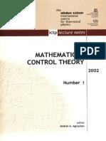 [Agrachev a. (Ed.)] Summer School on Mathematical