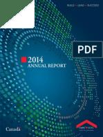 CMHC 2014 Annual Report