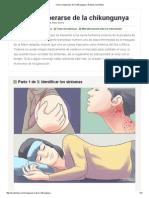 Cómo Recuperarse de La Chikungunya_ 19 Pasos (Con Fotos)