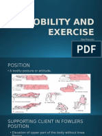 Mobility and Exercise (2)
