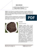 Descripción productos orgánicos