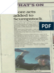 Exmouth Journal Update Scrumpstock 30 April