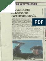 Exmouth Journal Update Scrumpstock 30 April