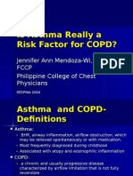 Asthma Really a Risk Factor for COPD