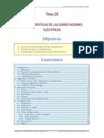 Tema 25 - Caracteristicas de Las Subestaciones Electricas