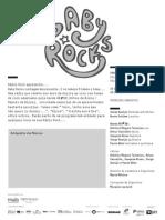 20140615 | Programa de Sala Baby Rocks | Primeiros Concertos