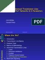 2 Port Networks & S-Parameters